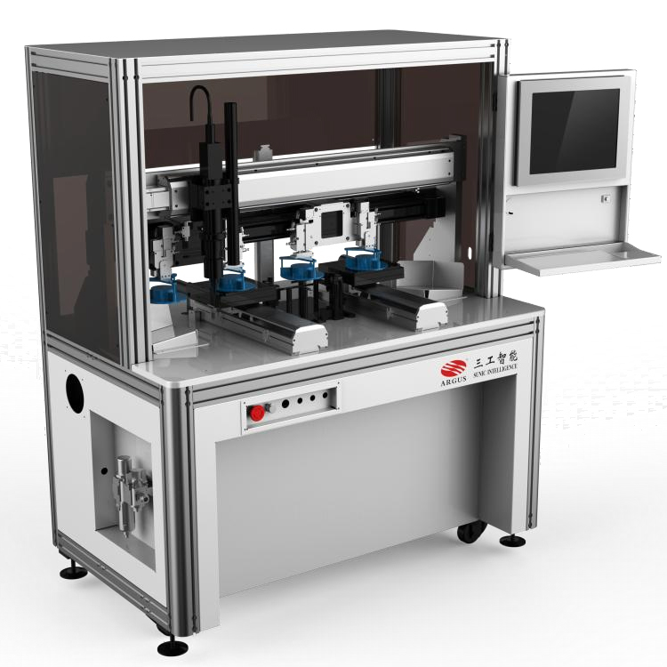 SFS-30AD High speed automatic laser scribing machine